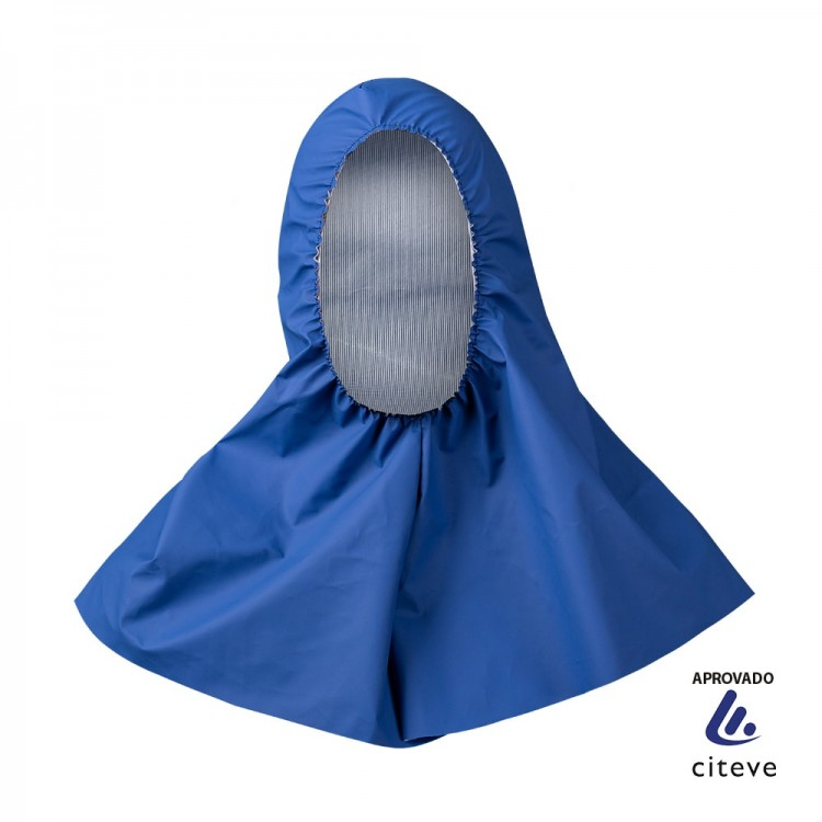 Blue Reusable Protection Cowl