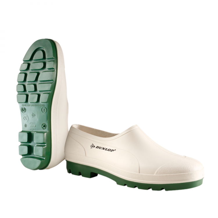 Bicolour Wellie Shoe White